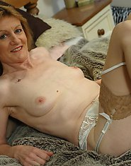 This horny housewife loves to play around