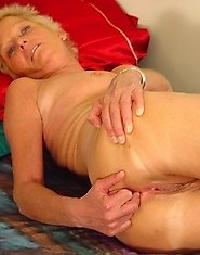 Horny housewife showing off her body